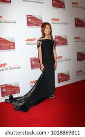 LOS ANGELES - JAN 8:  Valeria Cotto at the AARP's 17th Annual Movies For Grownups Awards at Beverly Wilshire Hotel on January 8, 2018 in Beverly Hills, CA