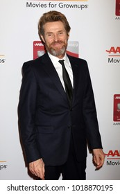 LOS ANGELES - JAN 8:  Willem Dafoe at the AARP's 17th Annual Movies For Grownups Awards at Beverly Wilshire Hotel on January 8, 2018 in Beverly Hills, CA