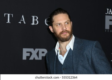 "LOS ANGELES - JAN 9:  Tom Hardy at the ""Taboo"" Los Angeles Premiere at Directors Guild of America on January 9, 2017 in Los Angeles, CA"