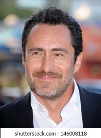 """LOS ANGELES - JUL 08:  Demian Bichir arrives to the """"The Bridge"""" FX Series Premiere  on July 08, 2013 in Hollywood, CA"""