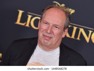 LOS ANGELES - JUL 09:  Hans Zimmer arrives for Disney's 'The Lion King' World Premiere on July 09, 2019 in Hollywood, CA
