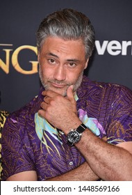 LOS ANGELES - JUL 09:  Taika Waititi arrives for Disney's 'The Lion King' World Premiere on July 09, 2019 in Hollywood, CA