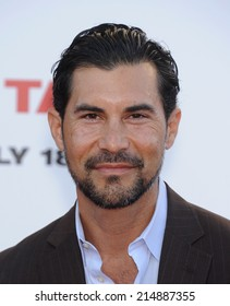 """LOS ANGELES - JUL 10:  David DeSantos arrives to the """"Sex Tape"""" World Premiere  on July 10, 2014 in Westwood, CA."""