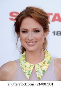 "LOS ANGELES - JUL 10:  Ellie Kemper arrives to the ""Sex Tape"" World Premiere  on July 10, 2014 in Westwood, CA."