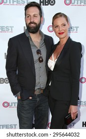"""LOS ANGELES - JUL 10:  Josh Kelley, Katherine Heigl at the """"Jenny's Wedding"""" Premiere at Outfest at the Directors Guild of America on July 10, 2015 in Los Angeles, CA"""
