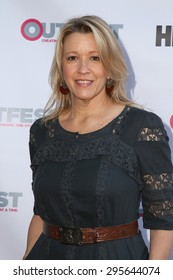 "LOS ANGELES - JUL 10:  Linda Emond at the ""Jenny's Wedding"" Premiere at Outfest at the Directors Guild of America on July 10, 2015 in Los Angeles, CA"