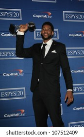 LOS ANGELES - JUL 11: Christian Watford in the press room during the 2012 ESPY Awards at Nokia Theater L.A. Live on July 11, 2012 in Los Angeles, California