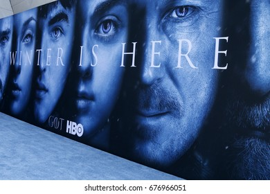 "LOS ANGELES - JUL 12:  Atmosphere at the ""Game of Thrones"" Season 7 Premiere Screening at the Walt Disney Concert Hall on July 12, 2017 in Los Angeles, CA"