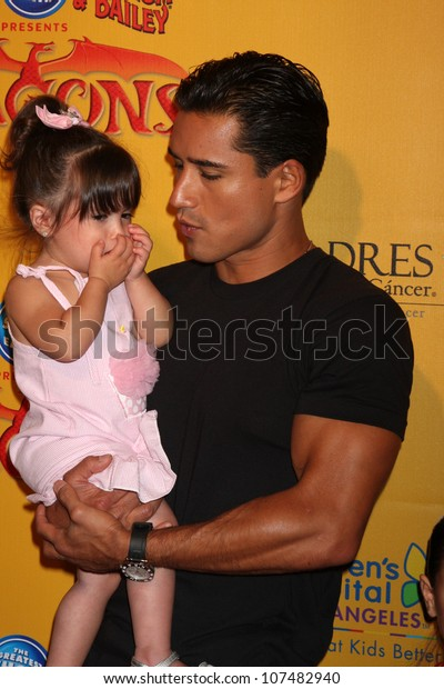 Los Angeles Jul 12 Mario Lopez Stock Photo Edit Now 107482940