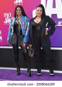 LOS ANGELES - JUL 12: Salt-N-Pepa arrives for the 'Space Jam: A New Legacy' World Premiere on July 12, 2021 in Los Angeles, CA