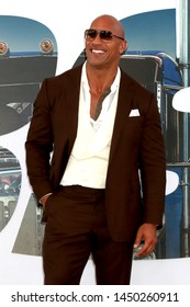 """LOS ANGELES - JUL 13:  Dwayne Johnson at the """"Fast & Furious Presents: Hobbs & Shaw"""" Premiere at the Dolby Theater on July 13, 2019 in Los Angeles, CA"""