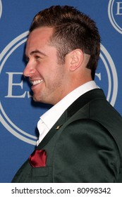 LOS ANGELES - JUL 13:  Evan Longoria in the Press Room of the 2011 ESPY Awards at Nokia Theater at LA Live on July 13, 2011 in Los Angeles, CA