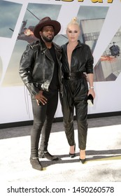 """LOS ANGELES - JUL 13:  P.K. Subban, Lindsey Vonn at the """"Fast & Furious Presents: Hobbs & Shaw"""" Premiere at the Dolby Theater on July 13, 2019 in Los Angeles, CA"""