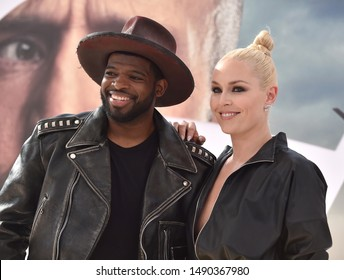 LOS ANGELES - JUL 13:  P.K. Subban and Lindsey Vonn arrives for the 'Fast & Furious Presents: Hobbs and Shaw' World Premiere on July 13, 2019 in Hollywood, CA