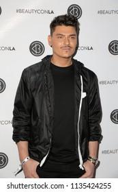LOS ANGELES - JUL 14:  Mario Dedivanovic, Makeup by Mario at the Beautycon Festival LA 2018 at the Convention Center on July 14, 2018 in Los Angeles, CA
