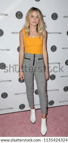 65a2dad60ea5 LOS ANGELES - JUL 14  Summer McKeen at the Beautycon Festival LA 2018 at  the Convention Center on July 14