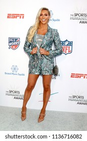 LOS ANGELES - JUL 17:  Charlotte Flair, Ashley Elizabeth Fliehr at the 4th Annual Sports Humanitarian Awards on The Novo on July 17, 2018 in Los Angeles, CA