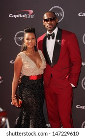 LOS ANGELES - JUL 17:  LeBron James arrives at the 2013 ESPY Awards at the Nokia Theater on July 17, 2013 in Los Angeles, CA