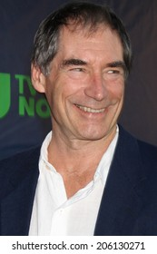 LOS ANGELES - JUL 17:  Timothy Dalton at the CBS TCA July 2014 Party at the Pacific Design Center on July 17, 2014 in West Hollywood, CA