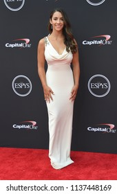LOS ANGELES - JUL 18:  Aly Raisman arrives to the 2018 ESPY Awards  on July 18, 2018 in Hollywood, CA