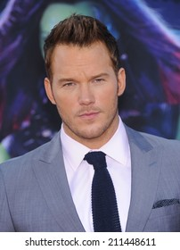 """LOS ANGELES - JUL 21:  Chris Pratt arrives to the """"Guardians Of The Galaxy"""" World Premiere  on July 21, 2014 in Hollywood, CA."""