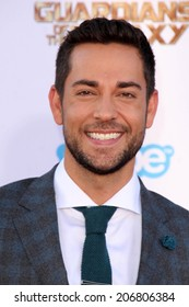 """LOS ANGELES - JUL 21:  Zachary Levi at the """"Guardians Of The Galaxy"""" Premiere at the Dolby Theater on July 21, 2014 in Los Angeles, CA"""
