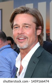 "LOS ANGELES - JUL 22:  Brad Pitt at the ""Once Upon a Time in Hollywood"" Premiere at the TCL Chinese Theater IMAX on July 22, 2019 in Los Angeles, CA"