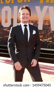 """LOS ANGELES - JUL 22:  Damon Herriman at the """"Once Upon a Time in Hollywod"""" Premiere at the TCL Chinese Theater IMAX on July 22, 2019 in Los Angeles, CA"""