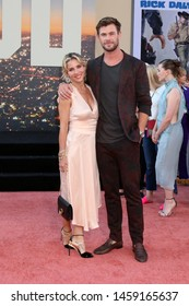 "LOS ANGELES - JUL 22:  Elsa Pataky, Chris Hemsworth at the ""Once Upon a Time in Hollywood"" Premiere at the TCL Chinese Theater IMAX on July 22, 2019 in Los Angeles, CA"