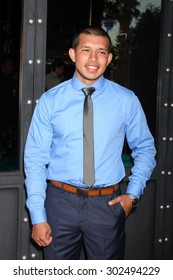 "LOS ANGELES - JUL 22:  Javi Marroquin at the ""Youthful Daze"" Season 4 Premiere Party at the Bugatta Supper Club on July 22, 2015 in Los Angeles, CA"