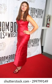 "LOS ANGELES - JUL 23:  Carolin Von Petzholdt at the ""The Boom Boom Girls of Wrestling"" Premiere at the Downtown Independent Theater on July 23, 2015 in Los Angeles, CA"