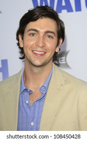 """LOS ANGELES - JUL 23: Nicholas Braun at the premiere of """"The Watch"""" held at Grauman's Theater on July 23, 2012 in Los Angeles, California"""