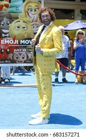 "LOS ANGELES - JUL 23:  TJ Miller at ""The Emoji Movie"" Premiere at the Village Theater on July 23, 2017 in Westwood, CA"