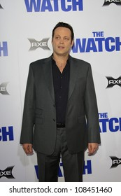 """LOS ANGELES - JUL 23: Vince Vaughn at the premiere of """"The Watch"""" held at Grauman's Theater on July 23, 2012 in Los Angeles, California"""