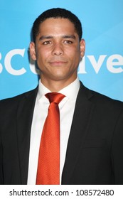 LOS ANGELES - JUL 24:  Charlie Barnett arrives at the NBC TCA Summer 2012 Press Tour at Beverly Hilton Hotel on July 24, 2012 in Beverly Hills, CA