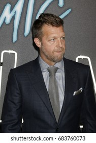 """LOS ANGELES - JUL 24:  David Leitch at the """"Atomic Blonde"""" Los Angeles Premiere at The Theatre at Ace Hotel on July 24, 2017 in Los Angeles, CA"""