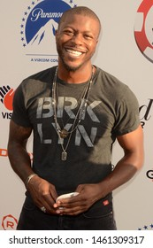 LOS ANGELES - JUL 24:  Edwin Hodge at the 9th Annual Variety Charity Poker & Casino Night at the Paramount Studios on July 24, 2019 in Los Angeles, CA