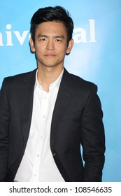 LOS ANGELES - JUL 24:  John Cho arrives at the NBC TCA Summer 2012 Press Tour at Beverly Hilton Hotel on July 24, 2012 in Beverly Hills, CA