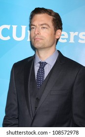 LOS ANGELES - JUL 24:  Justin Kirk arrives at the NBC TCA Summer 2012 Press Tour at Beverly Hilton Hotel on July 24, 2012 in Beverly Hills, CA