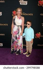 "LOS ANGELES - JUL 24:  Leigh-Allyn Baker at the ""Descendants"" Premiere Screening at the Walt Disney Studios on July 24, 2015 in Burbank, CA"