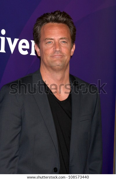 LOS ANGELES - JUL 24:  Matthew Perry arrives at the NBC TCA Summer 2012 Press Tour at Beverly Hilton Hotel on July 24, 2012 in Beverly Hills, CA