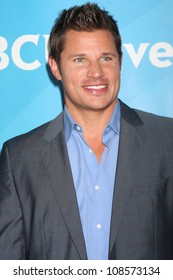 LOS ANGELES - JUL 24:  Nick Lachey arrives at the NBC TCA Summer 2012 Press Tour at Beverly Hilton Hotel on July 24, 2012 in Beverly Hills, CA