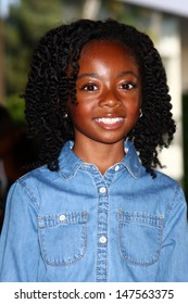 LOS ANGELES - JUL 24:  Skai Jackson arrives at  the Hallmark Channel Summer TCA event at the Beverly Hilton Hotel on July 24, 2013 in Beverly Hills, CA