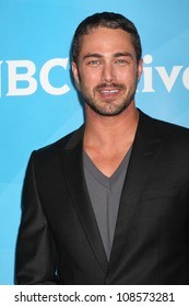 LOS ANGELES - JUL 24:  Taylor Kinney arrives at the NBC TCA Summer 2012 Press Tour at Beverly Hilton Hotel on July 24, 2012 in Beverly Hills, CA