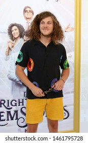 "LOS ANGELES - JUL 25:  Blake Anderson at the ""The Righteous Gemstones"" Premiere Screening at the Paramount Theater on July 25, 2019 in Los Angeles, CA"