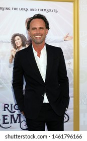 "LOS ANGELES - JUL 25:   Walton Goggins at the ""The Righteous Gemstones"" Premiere Screening at the Paramount Theater on July 25, 2019 in Los Angeles, CA"