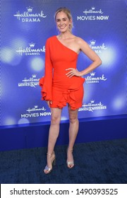 LOS ANGELES - JUL 26:  Brittany Bristow arrives for the Hallmark Channel and Hallmark Movies & Mysteries Summer 2019 TCA on July 26, 2019 in Los Angeles, CA