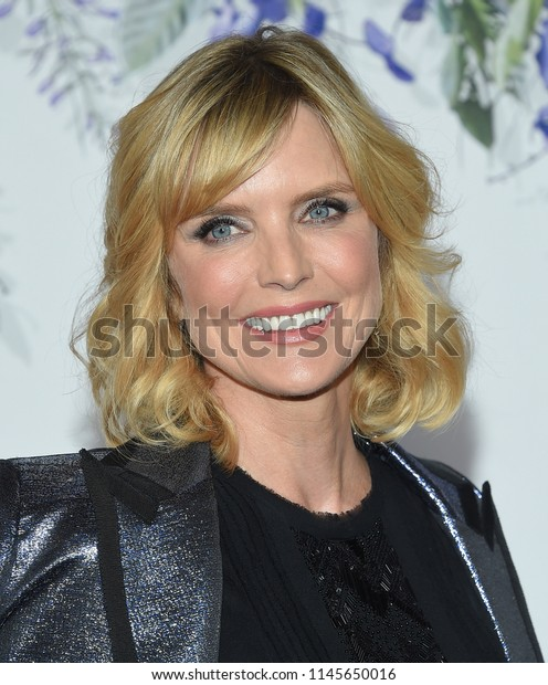 LOS ANGELES - JUL 26:  Courtney Thorne-Smith arrives to the Hallmark Channel Summer TCA Event  on July 26, 2018 in Hollywood, CA