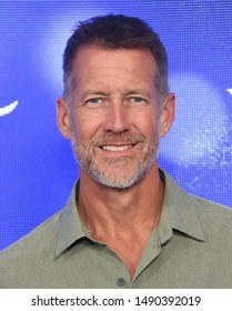 LOS ANGELES - JUL 26:  James Denton arrives for the Hallmark Channel and Hallmark Movies & Mysteries Summer 2019 TCA on July 26, 2019 in Los Angeles, CA