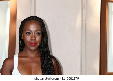 LOS ANGELES - JUL 26:  Rukiya Bernard at the Hallmark TCA Summer 2018 Party on the Private Estate on July 26, 2018 in Beverly Hills, CA